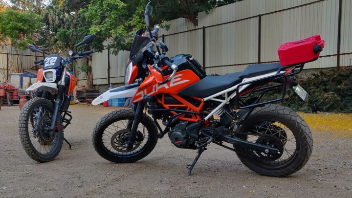 Video: Custom shop builds a one-off KTM 390 Adventure