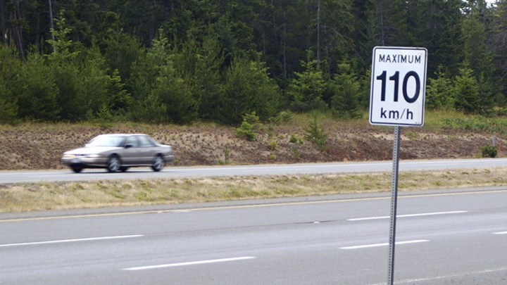 Opinion: Hitting the speed limit
