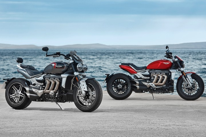 Triumph announces specs for two new Rocket 3 models