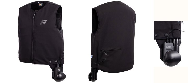 Rukka is now offering a climate control vest for motorcyclists