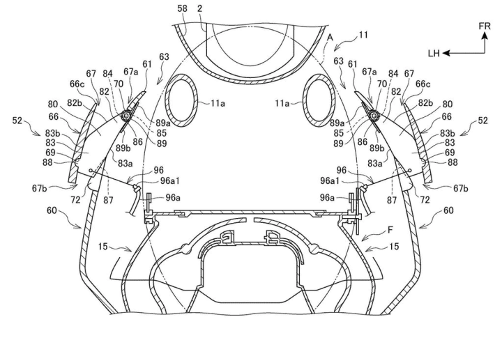 Honda patent reveals active-aero research