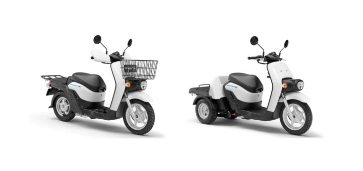 Honda announces new e-scooters, battery swap stations