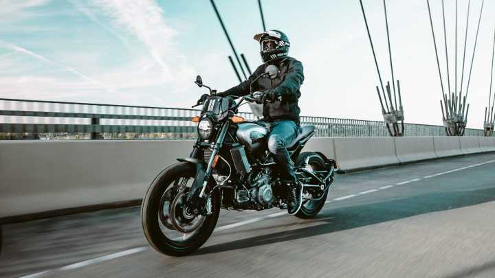 Indian FTR Rally appears at EICMA