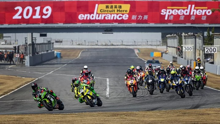 Dan Kruger closes out Chinese racing season with a podium