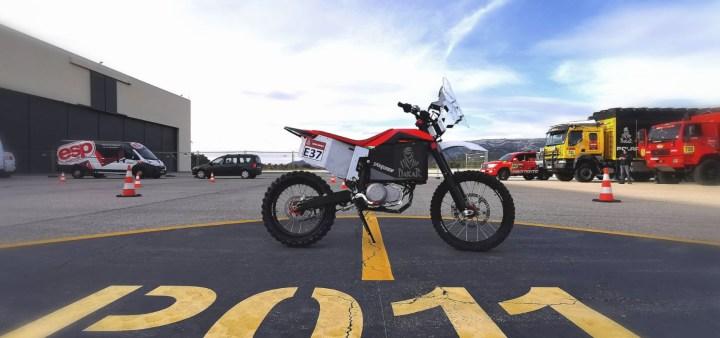 Tacita electric bike to tag along for the Dakar Rally