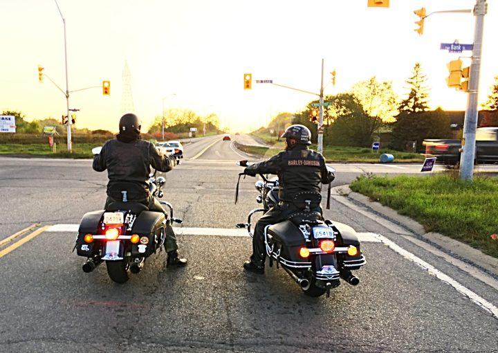 Riding with my bro