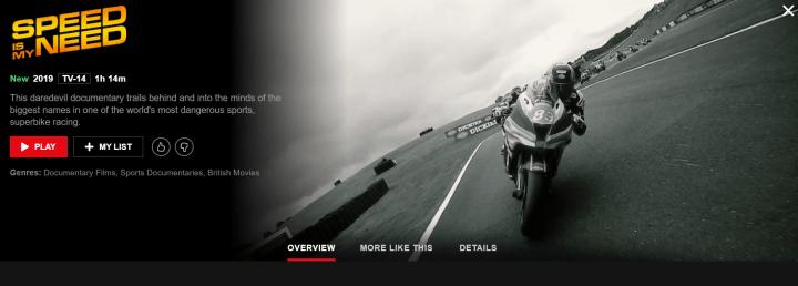 New superbike racing documentary hits Netflix