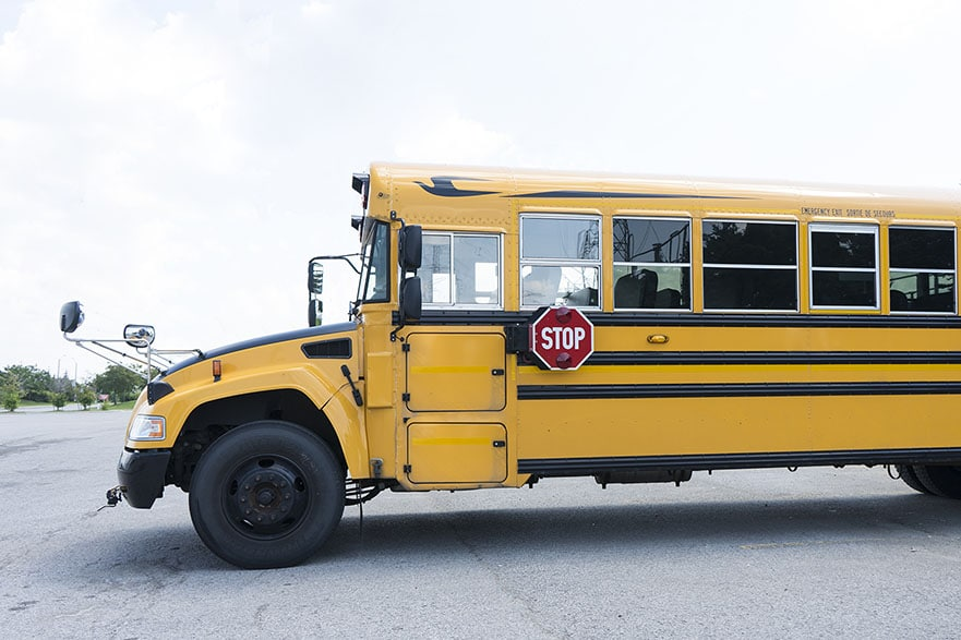 Reminder: School Bus Season is Upon Us