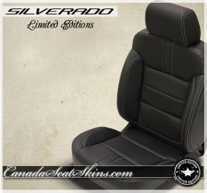 Silverado Limited Edition Katzkin Leather Seats