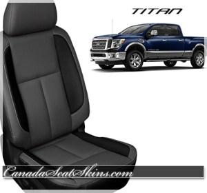 2016 Nissan Titan Black Leather Seats