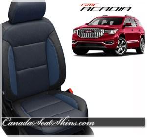 2017 GMC Acadia Blue Katzkin Leather Seats