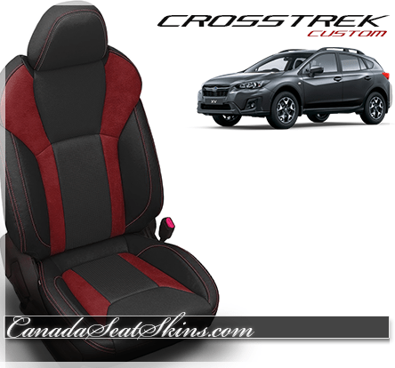 2018 Subaru Crosstrek Custom Red Leather Seats