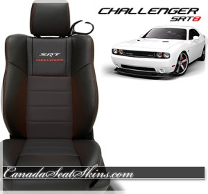 2014 Challenger SRT Katzkin Leather Upholstery
