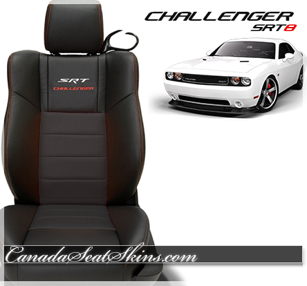 2014 Challenger SRT Katzkin Leather Upholstery Black