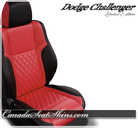 2018 Challenger Diamond Stitched Leather Design in Red