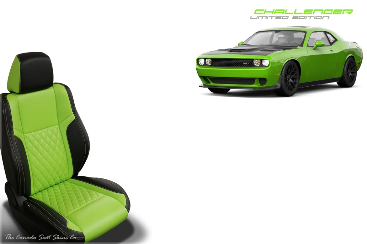 2018 Dodge Challenger Lime Leather Limited Edition