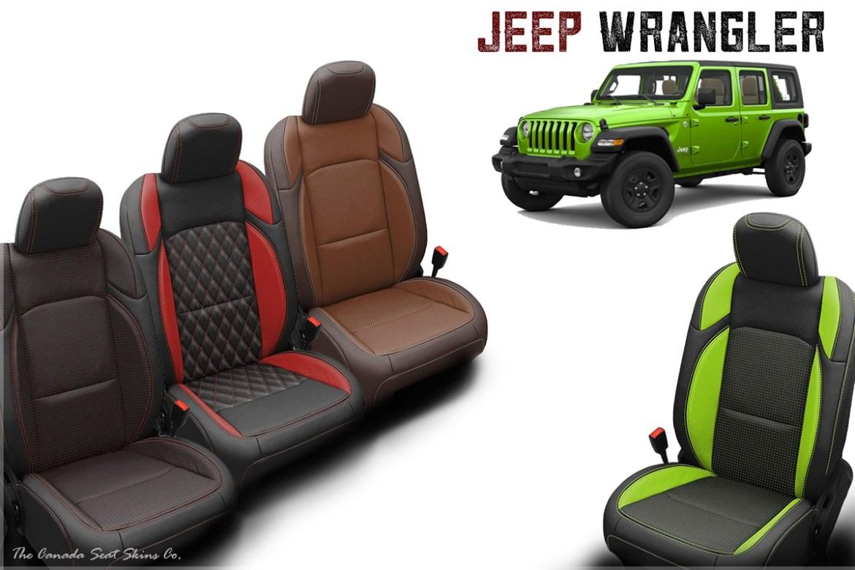 2018 Jeep Wrangler Katzkin Leather Sales Launch Press Release