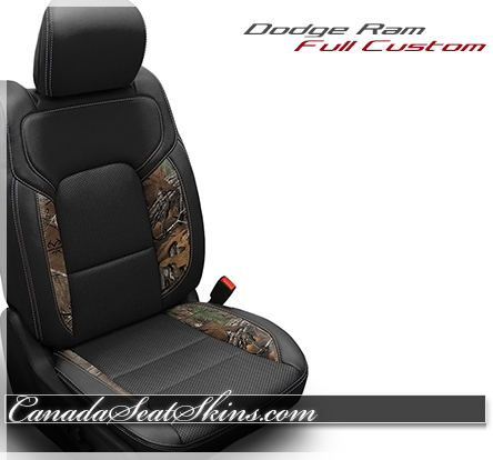 2019 Ram Camo Realtree Katzkin Leather Seats