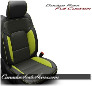 2019 Ram Screaming Green Katzkin Leather Seats