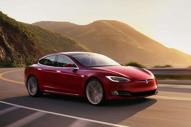 Electric Vehicle by Tesla