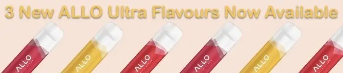 New ALLO Flavours Mobile Banner