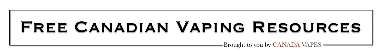 Canadian Vaping Info