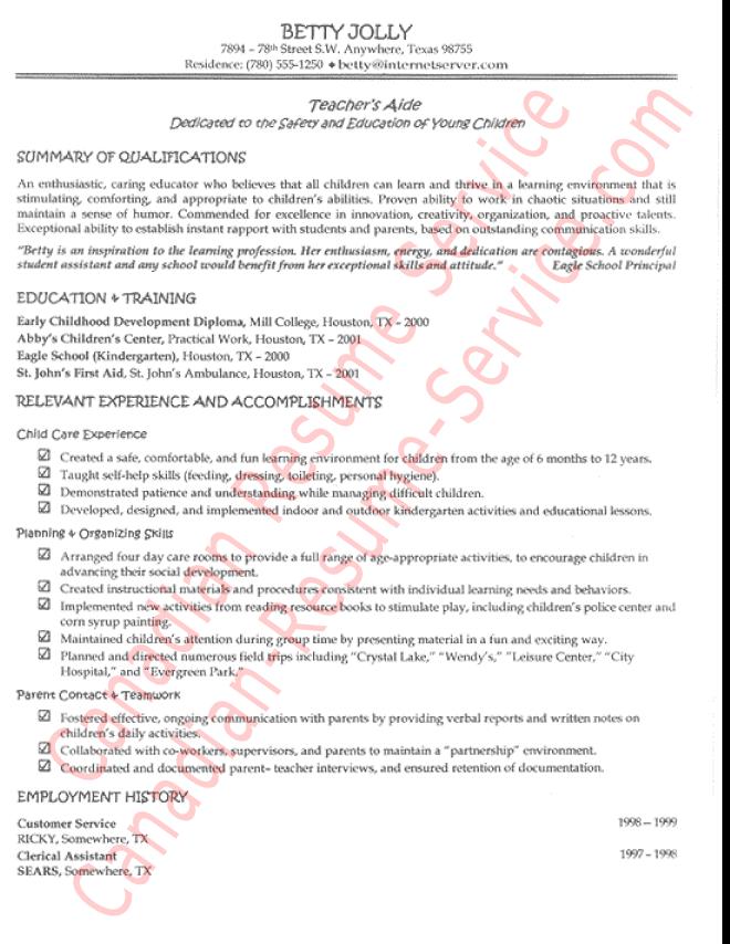 teacher aide resume sample teacher aide resume example teacher