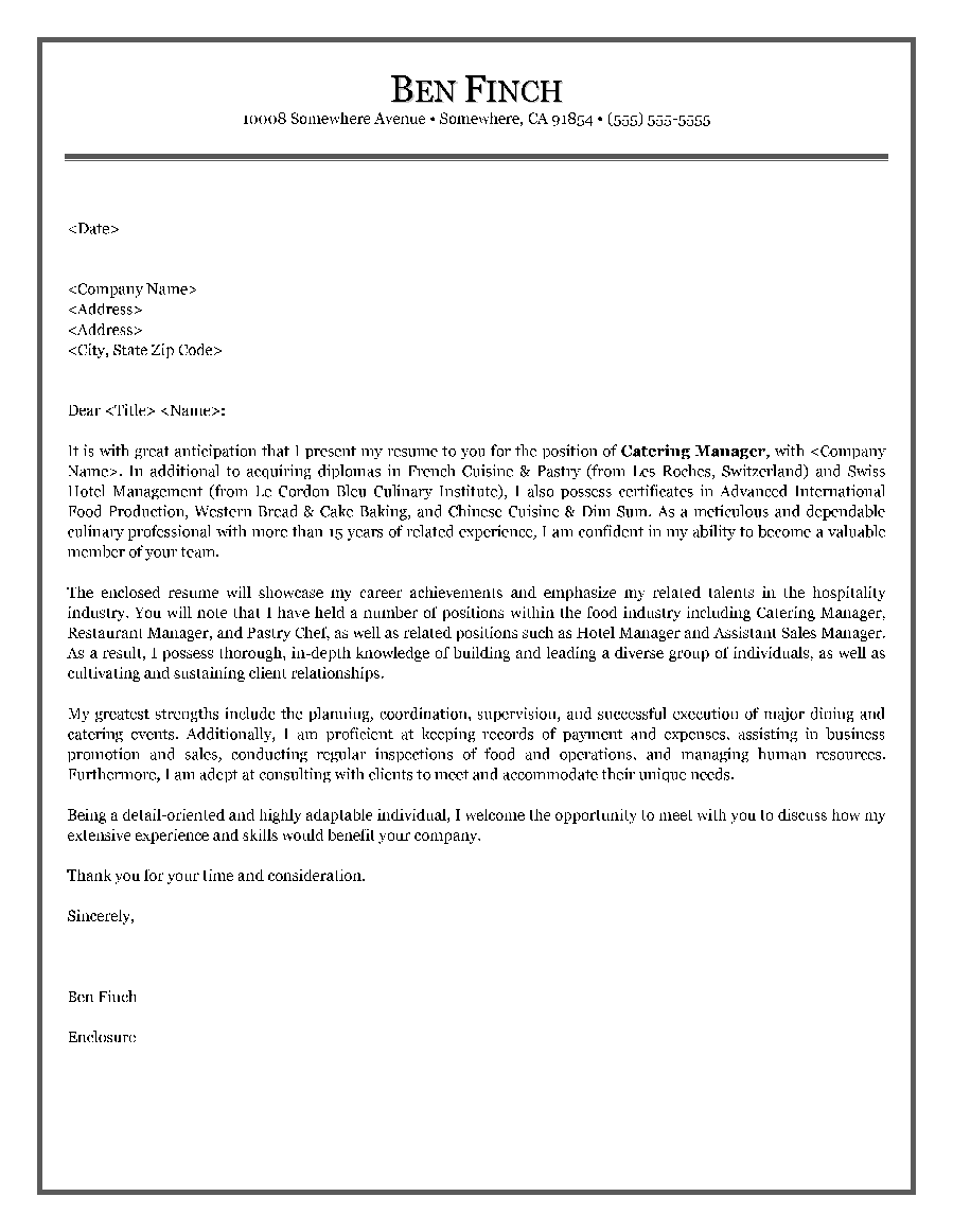 cover letter canada examples