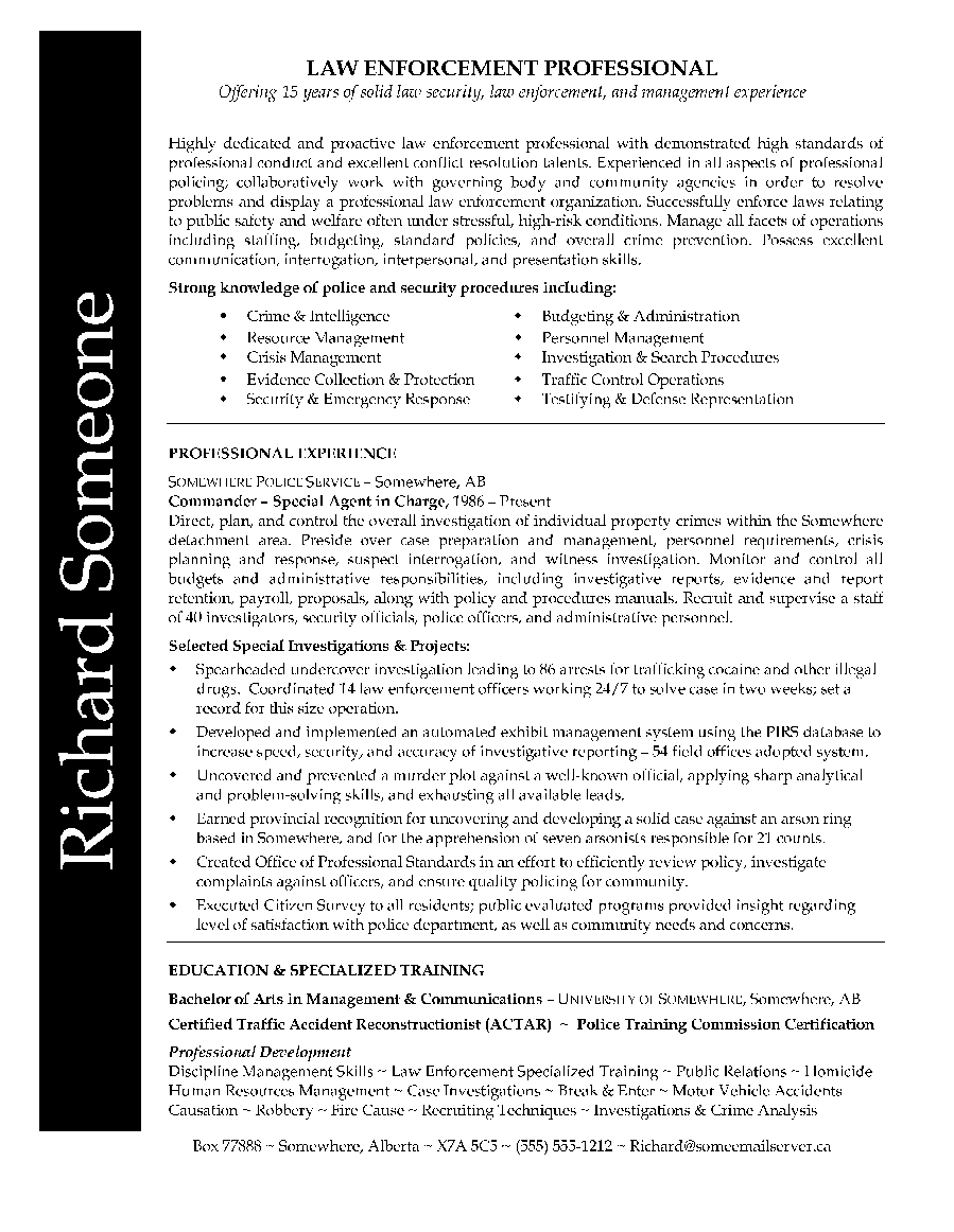 good objective for police officer resume police officer resume template resumecareer info resume examples retired police officer resume samples