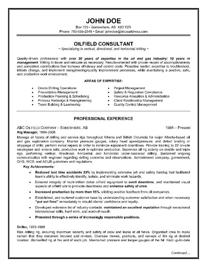 oilfield resume samples resume templates senior mechanic oil