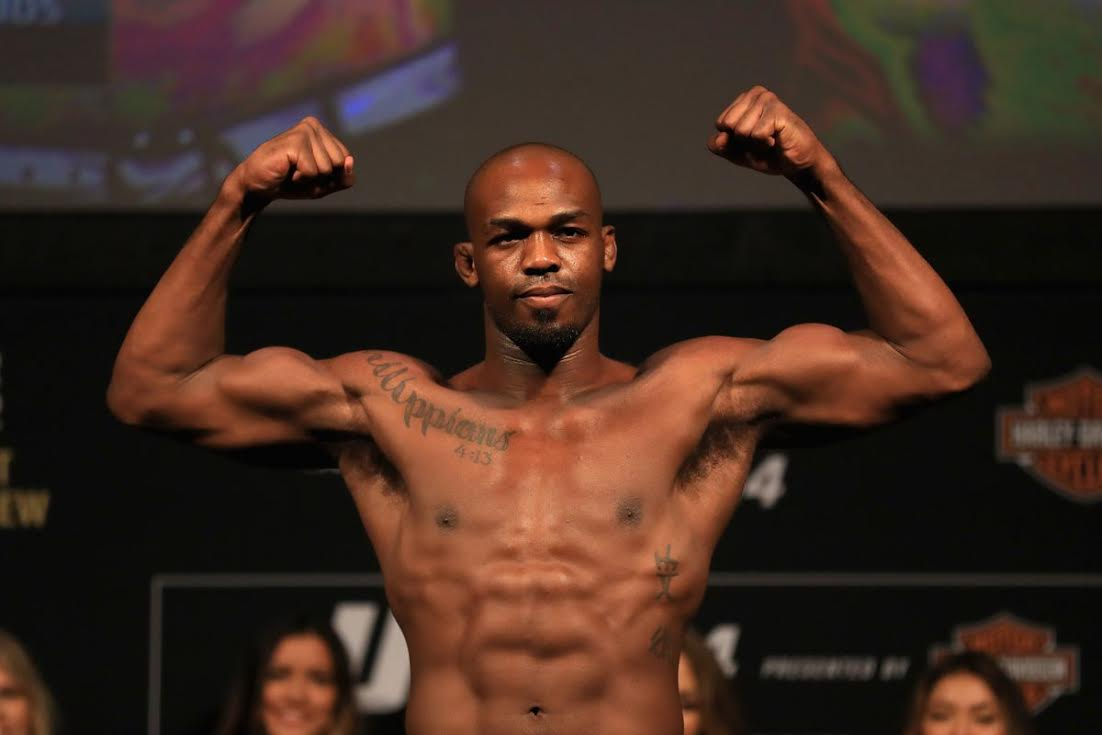 Jon Jones Found With TBOL