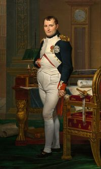 "[""The Emperor Napoleon in his study at the Tuileries"" by Jacques Louis David]"