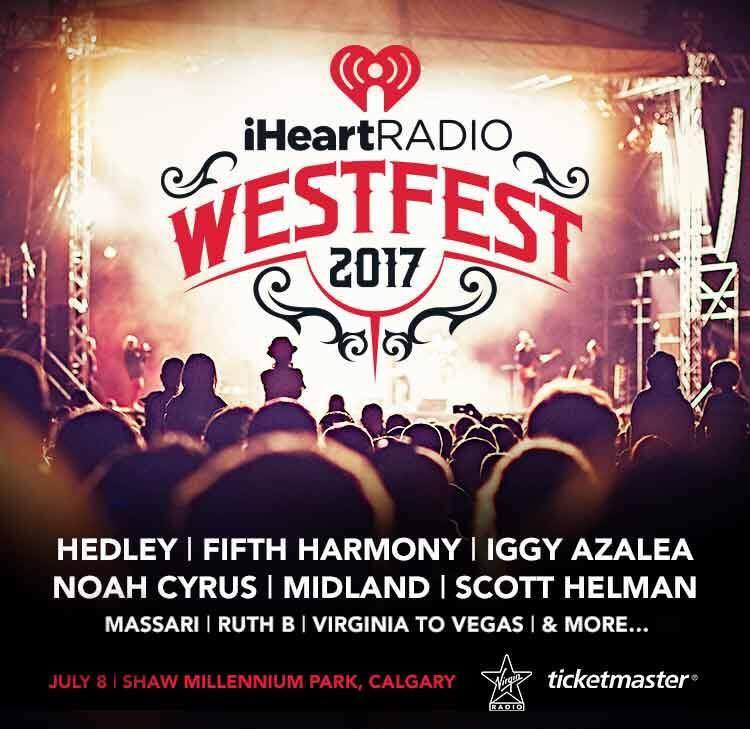 iHeartRadio announces first ever Westfest Calgary