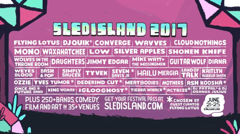 Five bands you are not to miss at Sled Island this June