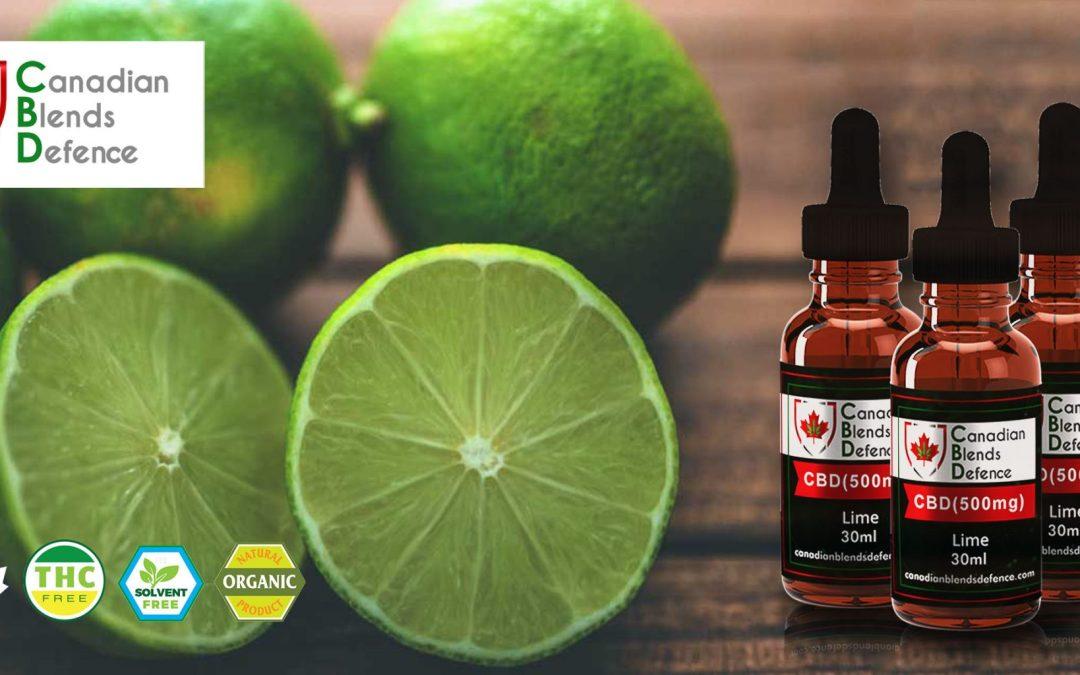 Lime CBD Tincture - CBD with Lime