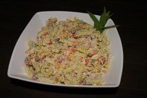 Cold Tuna Pasta Salad