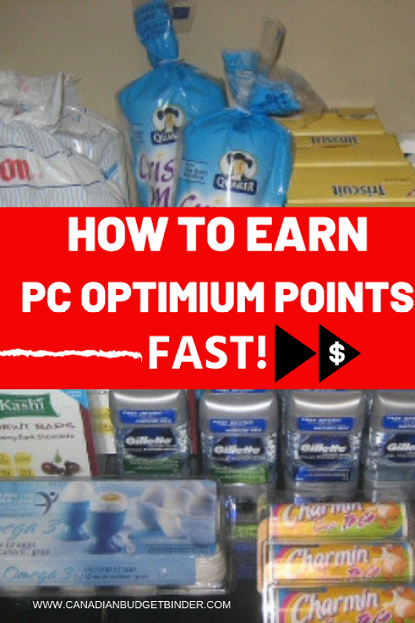 HOW TO EARN PC OPTIMUM POINTS Fast