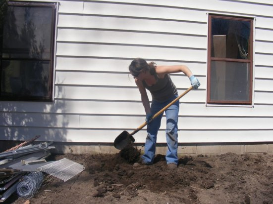 Digging dirt or soil- extra money