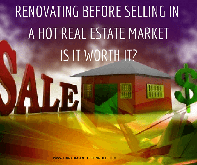 Should We Bother Renovating Before Selling Our Home?
