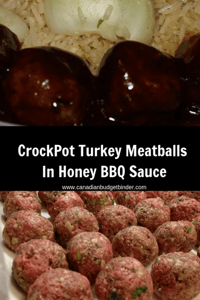 Turkey Meatballs Crockpot