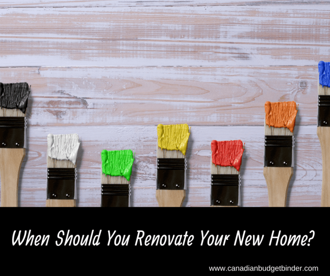 When Should You Renovate Your New Home_