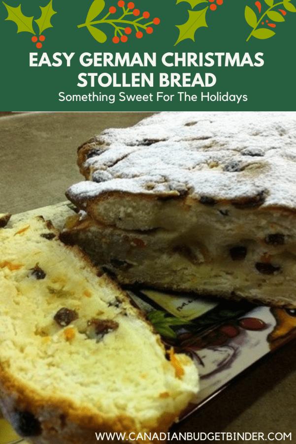 Stollen Fruit Bread