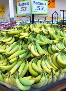 small town grocery bananas