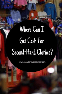 Where Can I Get Cash For Second-Hand Clothes