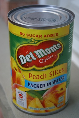 Del Monte Peaches Canned Goods