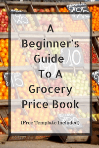 A Beginners Guide To A Grocery Price Book (Free Template Included)