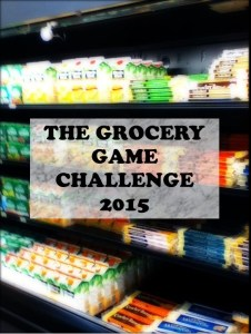 Join The Grocery Game Challenge 2015 : 2014 Overview and Final Shop #5 2014 Dec 29-Jan 4, 2015