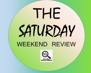 The Saturday Weekend Review logo- new house