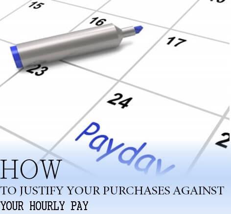hourly wage