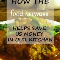 how the food network saves us money in our kitchen